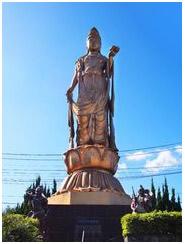 1円スタート 菩薩観音観音菩薩 高さ17m 阿吽の像 仁王像2体