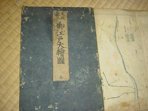 江戸の地図