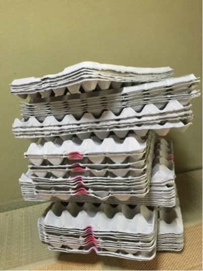 業務用 卵パック 54枚セット 紙製卵パック