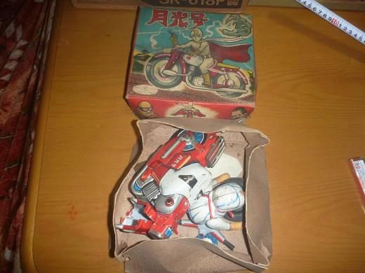 昭和レトロ 月光号 TRADE MARK MADE IN JAPAN