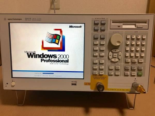 ★AGILENT TECHNOLOGIES E5071B ENA SERIES 300KHz-8.5GHz NETWORK ANALYZER☆
