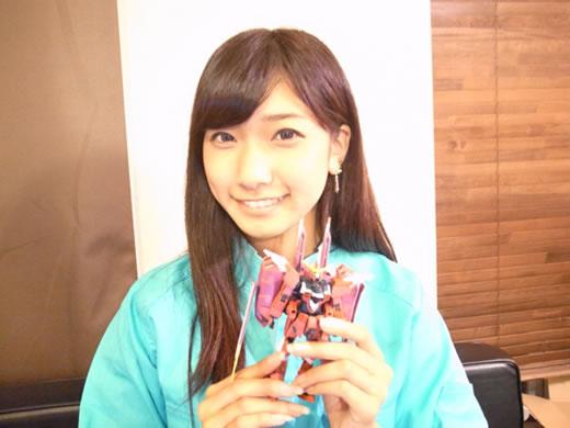 元AKB48森川彩香(本人)が作ったジャスティスガンダムを出品