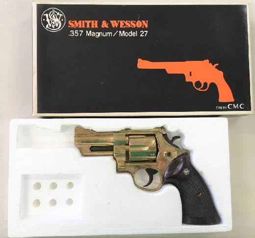 5db9d5b499e10 東京CMC SMITH &WESSON .357Magnum Model27 モデルガン SMG規格