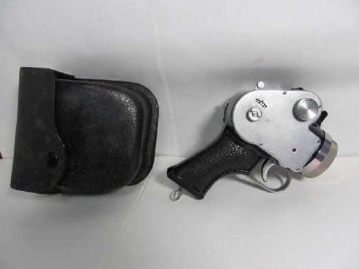 マミヤピストルカメラ 警視庁向け ピストル型カメラ ケース 現状品 希少品 レトロ