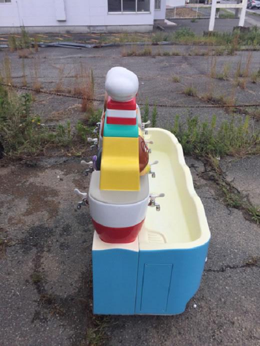 ☆レア 希少 アンパン 手洗い 場 足洗い付き。シンク エクステリア 近隣のみ取り付け5万〜 配達、手渡し要相談 。保育園 幼稚園 庭