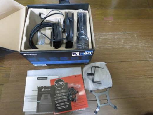 Corsair H60 CWCH60 簡易水冷CPUクーラー ジャンク品