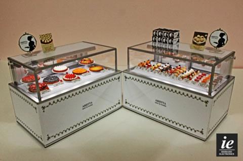 ドールハウス★☆ミニチュア タルト店のショーケース