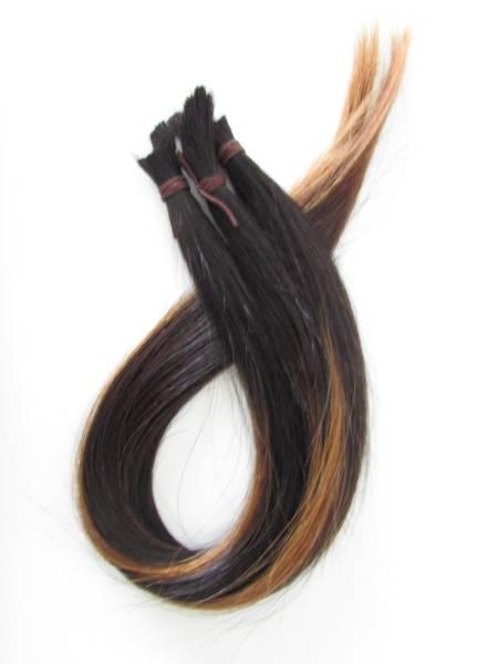 髪の毛 髪束 人毛 � (メッシュ)