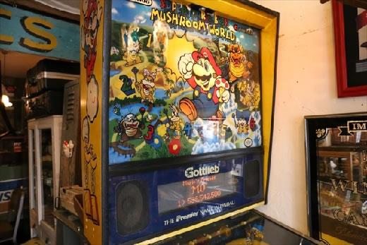 激レア☆SUPER MARIO BROS. MUSHROOM WORLD/スーパーマリオブラザーズマッシュルームワールド/ピンボールマシン/ゴットリーブ/ゲーム機