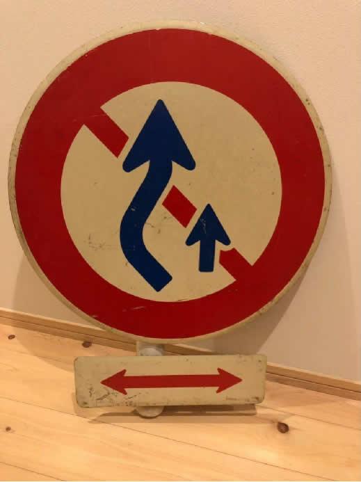 ★超貴重★沖縄アメリカ統治下時代の道路標識