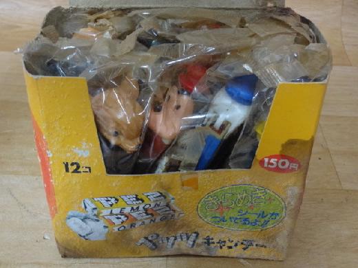 ドール 新品未開封 森永PEZ ペッツキャンデー ディズニー 12コ入1箱 貴重 昭和レトロ 駄菓子屋 当時物