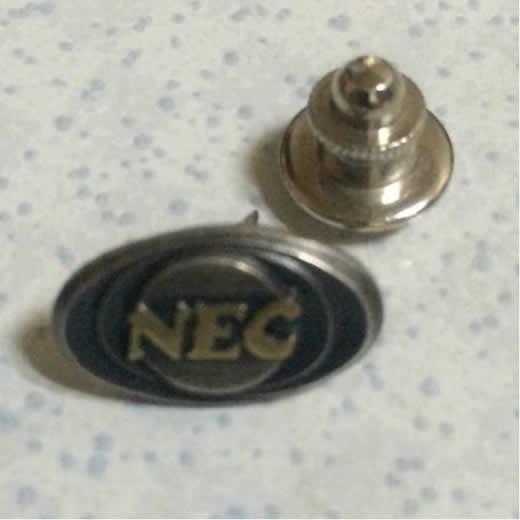 NEC/FUJITSU/社章/襟章/微章/バッジ/バッヂ