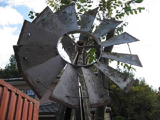 古き良きアメリカの 1品、RETRO. U.S 50' 風車