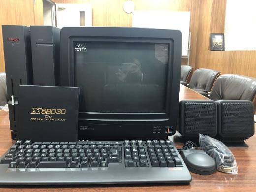 [新品]SHARP X68000本体モニターセット