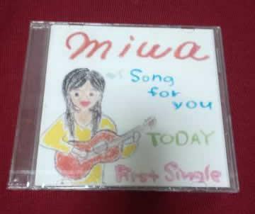 【激レア】miwa song for you/TODAY インディーズCD 自主制作盤