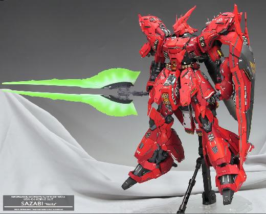 ■ MG 1/100 MSN-04 サザビー Ver.Ka 徹底改修塗装済完成品 ■