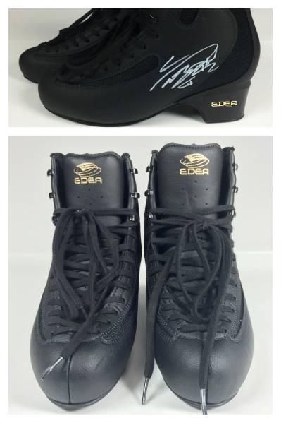 [チャリティ]羽生結弦さん 直筆サイン入り スケート靴