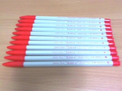 幻のボールペン ZEBRA(ゼブラ) F-3000 赤色11本セット ペン回し