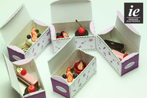ドールハウス★☆ミニチュア 洋菓子店のディスプレイセットA