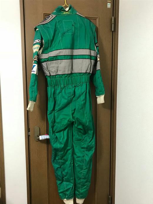 1円スタート ドリキン 土屋圭市 実使用 レーシングスーツ 本物 激レア サイン入り