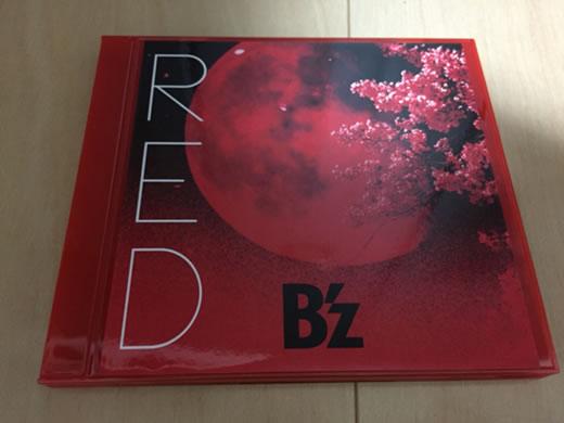 B'z Red 赤盤 リスバンド サイン入り