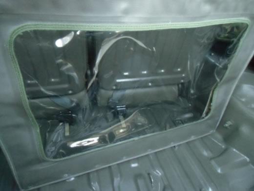 自衛隊 パジェロ 73式小型トラック リアドア用幌 ジープ