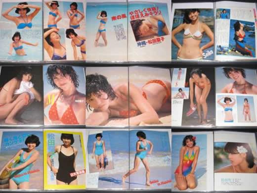 松田聖子◆切り抜き◆超大量◆レア記事多数◆今後無し◆1000P