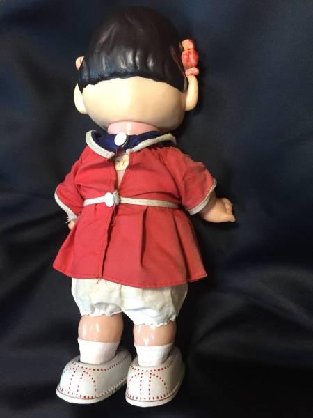 着せ替え ペコちゃん 二足歩行 ゼンマイ可動 高さ27センチ 日本製