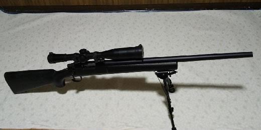 レミントン PSS ライフルモデルガン M700 M24 M40