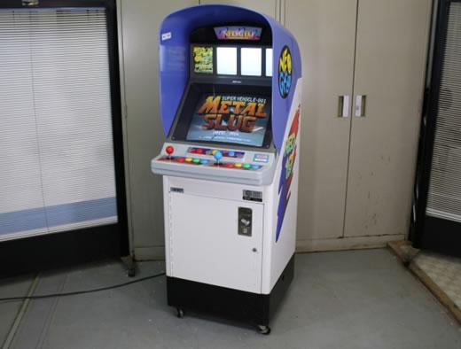 SNK MVS筐体 NEO-GEO NEO19 レバー・ボタン類新品交換済み ☆メタルスラッグセット☆ ネオジオ