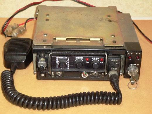 アナログ時代の警察無線機 MPR-10A