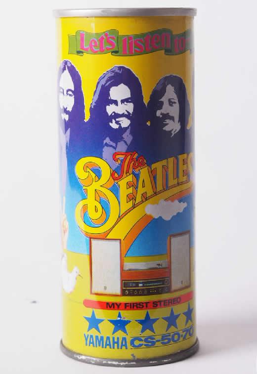 当時物!The Beatles ビートルズ Pepsi ペプシコーラ ペプシ パッケージ缶 空缶 空き缶 昭和レトロ レトロ