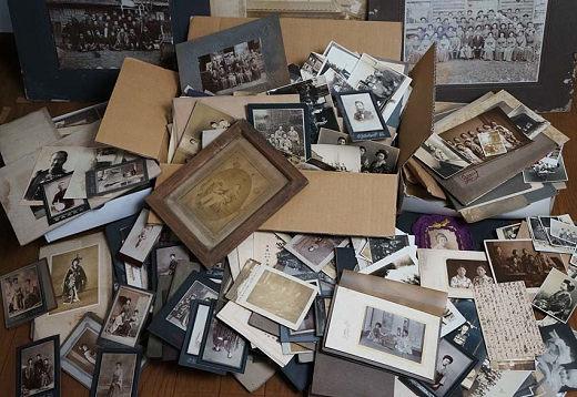 *当時の記録 大量 明治期〜戦後 古写真500枚以上まとめて/酒田市 庄内中心 明治期多数女性 家族 女学生 軍隊*