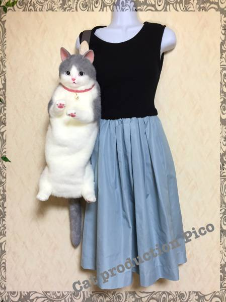 pico 猫 ショルダーバッグ フルートケースカバー ハンドメイド