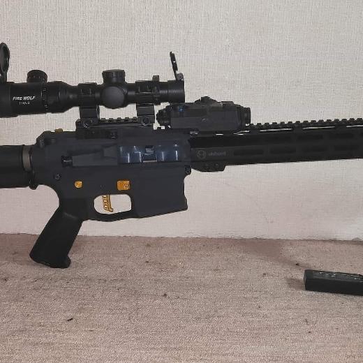 Retro Arms外装 ARES動力 TITAN制御最上級パーツずくめのフルカスタム電動ガン M4 DMR