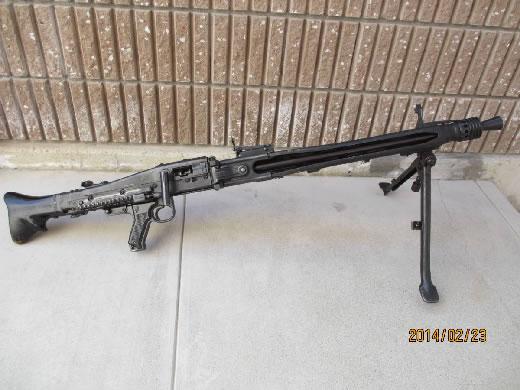 無可動実銃M53機関銃(ドイツ軍M42機関銃 同等)美術品