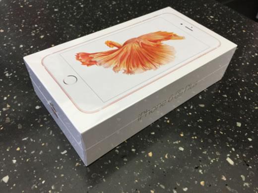 即決送料込! iPhone6s plus 128GB ローズゴールド SIMフリー