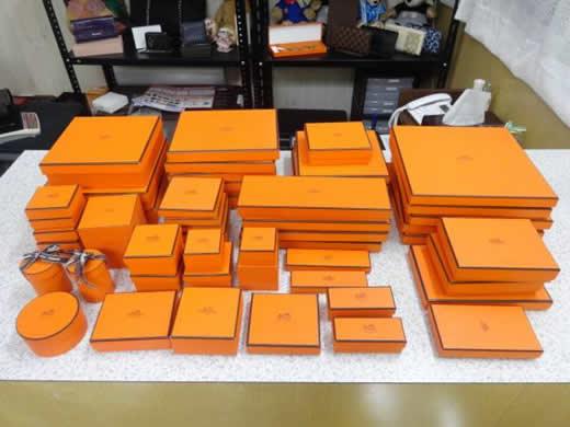 1円 エルメス 保存箱 53点セット 空箱 ボックス ケース HERMES
