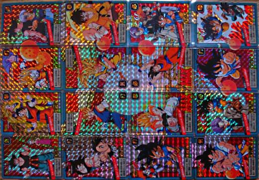 ドラゴンボール カードダス スーパーバトル 全種キラコンプ590枚
