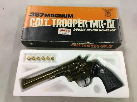 ○m コクサイ コルト トルーパーMkIII 6インチ 未発火 SMG金属製モデルガン 中古