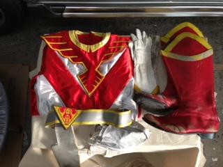 鳥人戦隊ジェットマン レッドホーク アトラク衣装一式