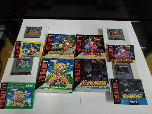 任天堂 バーチャルボーイ 非売品 スタンド型 Nintendo VIRTUALBOY ソフト4本つき