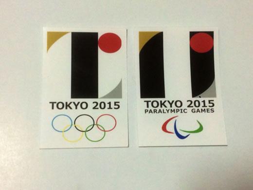 東京五輪2020年 エンブレム パロディ シール オリンピック