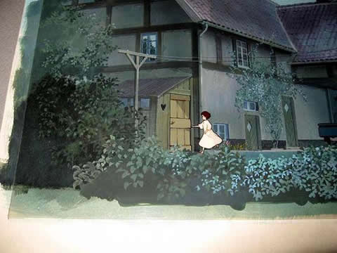 ジブリ/宮崎駿「魔女の宅急便」セル画