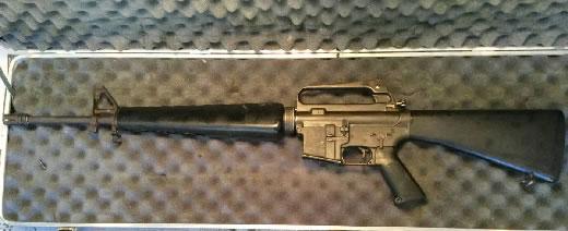 M16A1 無可動装飾品 旧加工