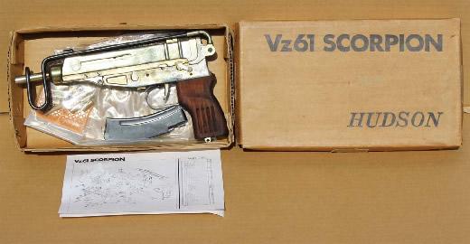 ハドソン 金属製 Vz61 スコーピオン ゴールド仕上 レア品