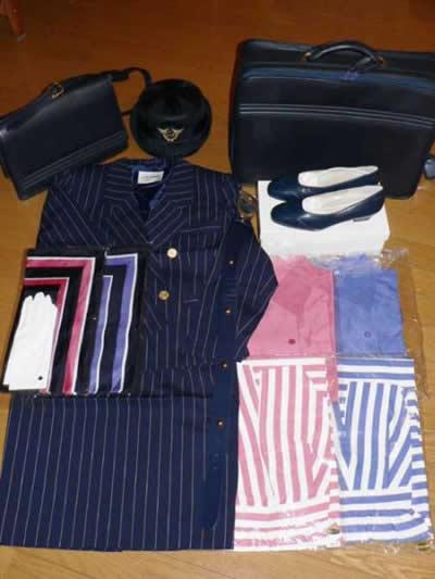 ANACA先代制服フルセット (スチュワーデス、CA、JAL、ANA)