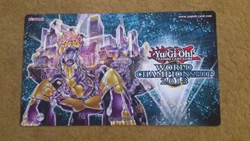 遊戯王 世界大会 wcs2013 プレイマット Grandopolis