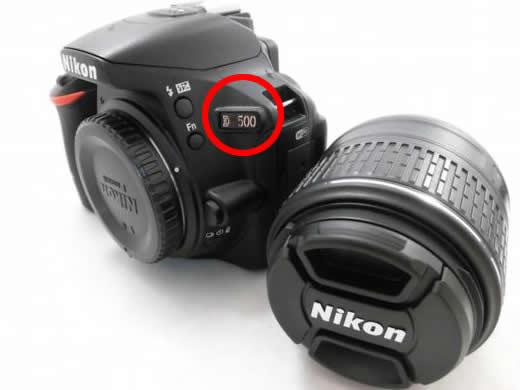 Nikon デジタル一眼レフカメラ D500 レンズ AF-S NIKKOR 18-55mm