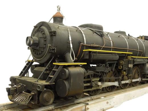 ジャンク 小川精機 ライブスチーム O.S.MOUNTAIN マウンテン 5インチ 機関車 SL 鉄道模型 直S2436204